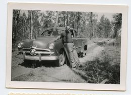 Homme Man Voiture à Situer Identifier Car Usa Us 50s 60s Pick-up - Automobili