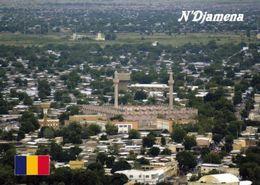 1 AK Tschad * République Du Tchad * Blick Auf Die Hauptstadt N'Djamena – Mit Moschee -  Luftbildaufnahme * - Tchad