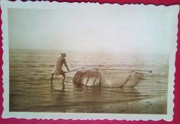 Fisherman At Turn Of The Century Philippines - Philippines