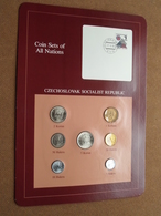 CZECHOSLOVAK SOCIALIST REPUBLIC ( From The Serie Coin Sets Of All Nations ) Card 20,5 X 29,5 Cm. ) + Stamp '82 ! - Tchécoslovaquie