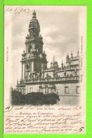 SANTIAGO DE COMPOSTELA - TORRE DEL RELOJ - Tarjeta Escrite En 1903 - Santiago De Compostela