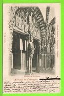 SANTIAGO DE COMPOSTELA - PORTICO DE LA GLORIA - Tarjeta Escrite En 1903 - Santiago De Compostela