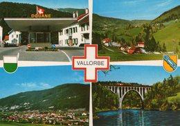 (94)  CPSM  Vallorbe    (Bon Etat) - VD Waadt