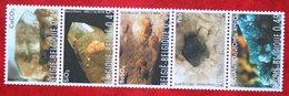 See Pictures Mineralen Minerals Mineralien OBC N° 3174-3178 (Mi 3227-3231) 2003 POSTFRIS MNH ** BELGIE BELGIEN / BELGIUM - Belgien