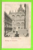 SANTIAGO DE COMPOSTELA - FACHADA DE LAS I'LATERIAS - Tarjeta Virgen - Santiago De Compostela