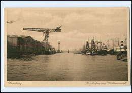 U4678/ Hamburg Hafen Rosshafen Mit Vulkanwerft AK Ca.1925 - Autres