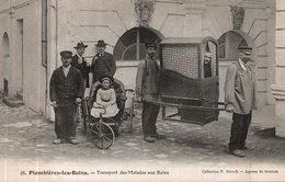 PLOMBIERES LES BAINS TRANSPORT DES MALADES AUX BAINS - Plombieres Les Bains