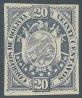 BOLIVIA - 1894 - NO GUM - IMPERFORATED -  Yv 43 - Lot 19217 - Bolivie