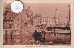 14 - Carte Postale Ancienne De HONFLEUR  La Lieutenance Et Le Port - Honfleur