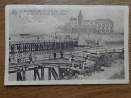 Blankenberge, Intrede Van De Haven, Den Vuurtoren --> Beschreven 1927 (achterkant Geschonden Waar Zegel Zat) - Blankenberge