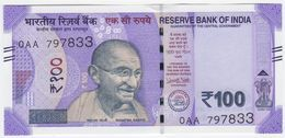 India NEW - 100 Rupees 2018 - UNC - India