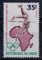 Niger 1973 - Salto In Alto Pole Vault MNH ** - Jumping