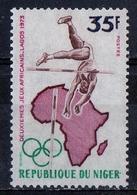 Niger 1973 - Salto In Alto Pole Vault MNH ** - Salto