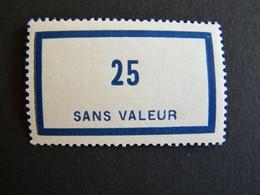 FICTIFS NEUF ** N°F 88 SANS CHARNIERE (FICTIF F88) - Phantom