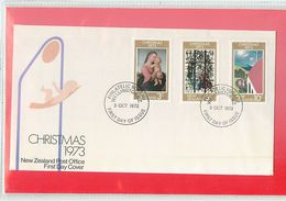 NUOVA ZELANDA - NEW ZEALAND - FDC 1973  -  CHRISTMAS - FDC