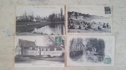 LOT 200 CARTES POSTALES ANCIENNES FRANCAISES - TOUTES SCANNEES - DEPART 1 EURO - À VOIR - - Postcards