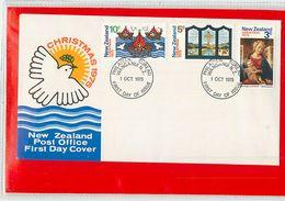 NUOVA ZELANDA - NEW ZEALAND - FDC 1975  -  CHRISTMAS - FDC