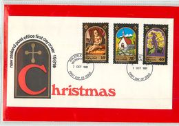 NUOVA ZELANDA - NEW ZEALAND - FDC 1981  -  CHRISTMAS - FDC