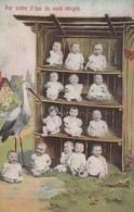 BEBE PAR ORDRE D AGE ILS SONT RANGES - Cartes Humoristiques