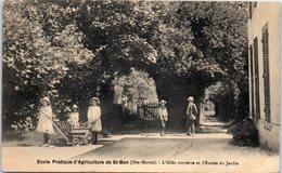 52 - SAINT BON --  Ecole Pratique D'Agriculture - L'Allée Couverte Et L'entrée Du Jardin - France