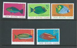 Cocos Keeling Island 1997 Fish Definitives III Set Of 5 MNH - Cocos (Keeling) Islands