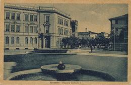 Grosseto Piazzale Umberto I  P. Used 3 Stamps Edit Bianciardi To Louis Di Maio Paris XIII Rue Peupliers 39 - Grosseto