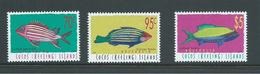 Cocos Keeling Island 1998 Fish Definitives IV Set Of 3 To $5 MNH - Cocos (Keeling) Islands