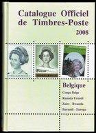 Catalogue Officiel C.O.B.   (FR) 2008 - Timbres De Belgique, Congo, Sud-Kasaï, Ruanda-Urundi, Burundi, Katanga, EUROPA. - Belgien