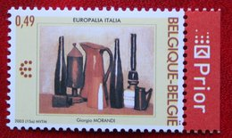 Europalia Italie Belgie OBC N° 3205 (Mi 3254) 2003 POSTFRIS MNH ** BELGIE BELGIEN / BELGIUM - Belgien