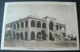 MASSAUA : PALACE OF  GOVERNMENT  //  MASSAUA : PALAZZO DEL GOVERNO - Erythrée