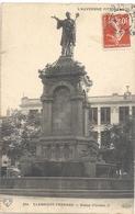 854. CLERMONT-FERRAND . STATUE D'URBAIN II . AFFR SUR RECTO LE 1-2-1910 - Clermont Ferrand