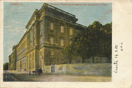 Caserta Palazzo Reale Architettura Del Vanvitelli  Edit Petrillo 1905 Used To Claas German Consulate Napoli - Caserta