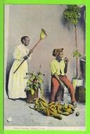 HABANA - DULCES ROBADOS  - Tarjeta Virgen #  Anno 1905 -  Fotos Anverso Y Reverso - Cuba