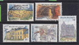 Belgien  1991 Mi: 2462-66 / Be283 - Belgien