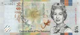 BAHAMAS 0.5 DOLLAR 2018 (2019) P-NEW UNC [BS348a] - Bahama's