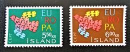 EUROPA 1961 - NEUFS ** - YT 311/12 - MI 354/55 - 1944-... Republique