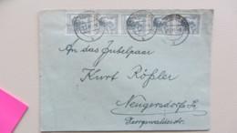 SBZ-10fach: Ds-Brief Mit Kontrollrat II 12 (5) Pf.Arbeiter OSt. Neugersdorf 27.7.48  Knr: 947 ZF 2b) - Zone Soviétique
