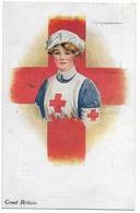 L'infirmière Anglaise  - Croix Rouge   - WWI - Croce Rossa
