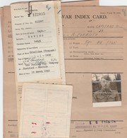 Index Card - Prigionieri Di Guerra - Documents