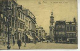 BELGIUM - HAINAULT - MONS - LE THEATRE ET LA RUE DU NIMY - Mons