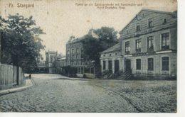 POLAND - PR. STARGARD - PARTIE AN DER SCHUTZENSTRASSEMIT KUNSTMUHLE UND HOTEL DEUTCHES HAUS - Polen