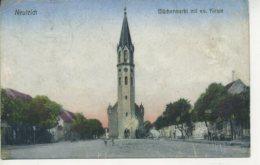POLAND - NEULEICH - BLUCHERMARKT MIT EV. KIRCHE - Pologne