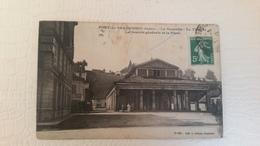 B3/ PONT- DE- BEAUVOISIN -la Grenette-le Théâtre -la Société Générale Et La Place - France