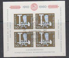 Switzerland 1960 Pro Patria M/s Used 1st Day (42176) - Pro Patria