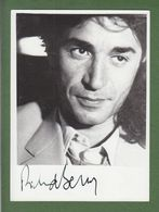 RICHARD BERRY AUTOGRAPHE / AUTOGRAMM In Person Signed Glossy Photo 13/18 Cm   *Acteur* - Autographes