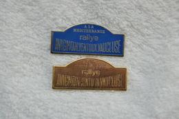 Pin's Rallye Avignon Ventoux Vaucluse - Badges
