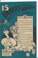 15 FABLES Célèbres Racontées En ARGOT Par Marcus - Livres, BD, Revues