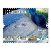 Portugal  ** & 150 Years Of The University Of Coimbra Geophysical Institute, Meteorology 2014 (6773) - Protection De L'environnement & Climat