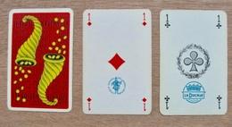 JEU DE 52 CARTES PLUS 2 JOKER  SANS ETUI CORNE D'ABONDANCE LOTERIE NATIONALE /  LA DUCALE FRANCE SYNDICATS NATIONAL DES - Cartes à Jouer Classiques