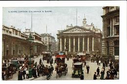 CPA - Carte Postale -Royaume Uni - London - Exchange Bank  VM1484 - London